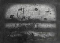 Etching, oilstick, charcoal. 2013. 70x40 cm.