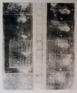 Etching, reliefprint. 2019. 60x50 cm.